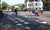 VÍDEO: ¿Semáforos, qué semáforos? Así es un día cualquiera en una intersección en los Países Bajos
