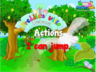 Learning Kids - Children lesson -Actions Verbs Present Simple, English Lessons for Kids, ESL (2)