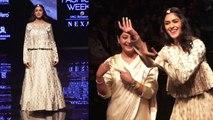 Mrunal Thakur DANCES during ramp walk at Lakme Fashion Week 2019;Watch video | FilmiBeat