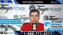 Boston Red Sox vs San Diego Padres 8/23/2019 Picks Predictions Previews