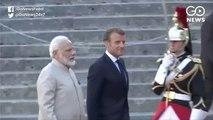 India, Pakistan Should Resolve Kashmir Issue Bilaterally: Macron