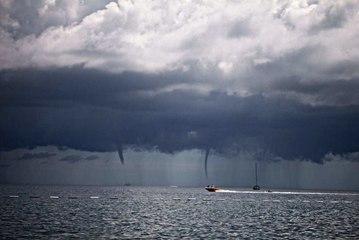 Die Entstehung von Tornados und Hurrikans