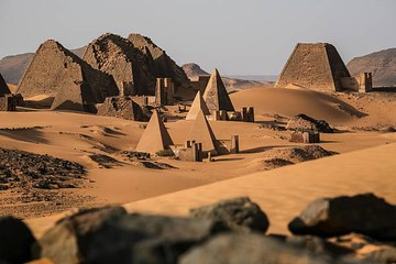 In welchen Ländern kann man Pyramiden sehen?