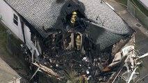 Sauerstoffflaschen in Privathaus verursachen tödliche Explosion