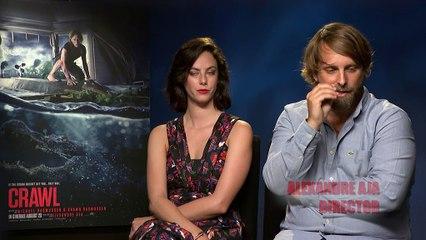 Crawl - Exclusive Interview with Kaya Scodelario & Director Alexandre Aja