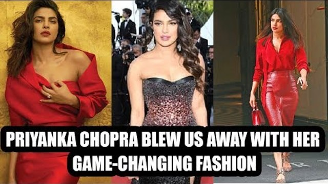 Priyanka Chopra blew us away with her game-changing fashion