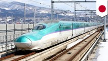 Japanese bullet train runs with an open door while going 280 kph