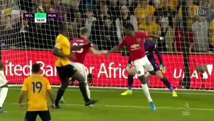video wolves vs manchester united premier league highlights soccer highlights on 19 08 2019