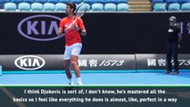 I envy Djokovic's backhand - Osaka