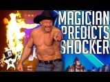 Mind Magician Brings Judges Thoughts To Life on Britain's Got Talent - Magicians Got Talent