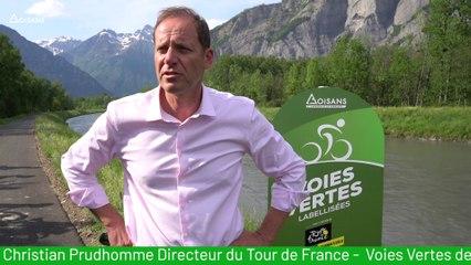 Voie verte Oisans labellisée Tour de France