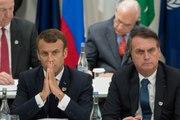 Amazonie : Macron accable Bolsonaro et bloque l'accord UE-Mercosur