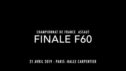 ASSAUT Finale  France 2019 - F60 : BAILLEUL Gabrielle - MICALLEF SAMARY Christelle