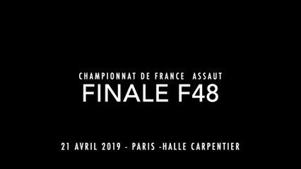 ASSAUT Finale 2019 - F48 - CHAMANE Samya / PUYFAGES Johanna