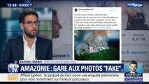 Amazonie: diffuser des photos qui datent de plusieurs années, est-ce diffuser des fake news?