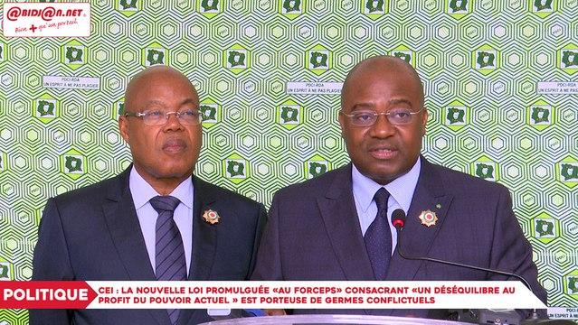 CEI : Les groupes parlementaires de l'opposition invitent le Président à reprendre les négociations avec toutes les parties prenantes