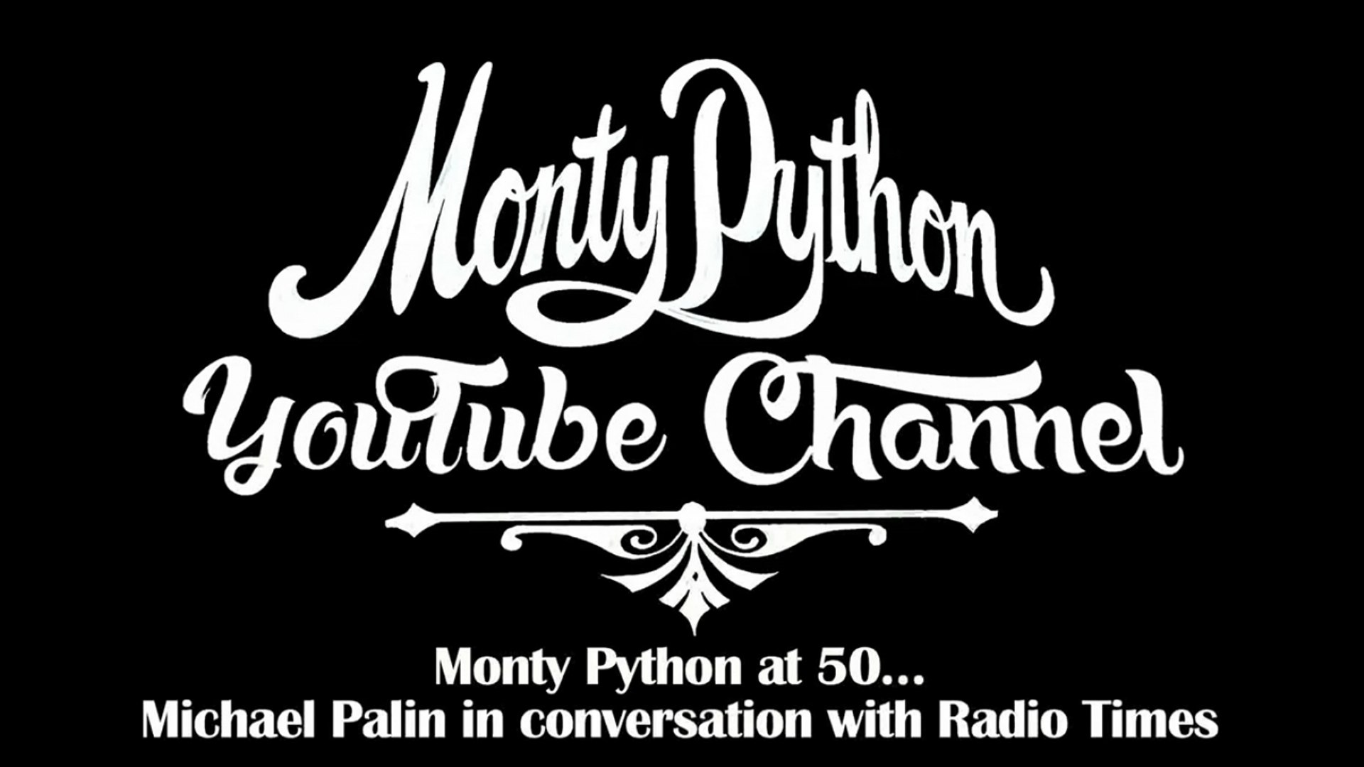 Monty Python At 50 Michael Palin In Conversation With Radio Times Video Dailymotion