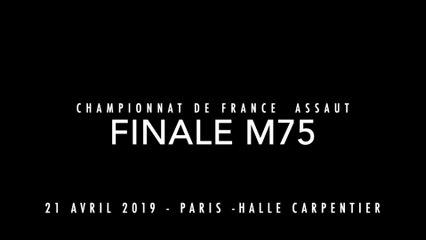 ASSAUT Finale 2019 - M75 : SADIK Antoine / NOGUEIRA Fabrice