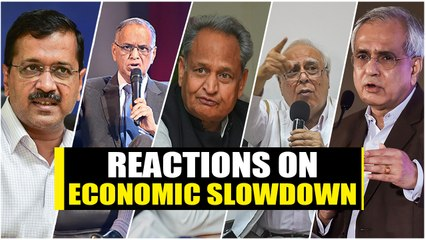 Experts, netas react on India's economic slowdown | Oneindia News