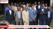 Crise à l`Africa Sports d'Abidjan : Vagba Alexis et Bahi Antoine se réconcilient
