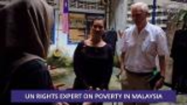 Consider This: UN Rights Expert - Malaysia Poverty Is Not 0.4%