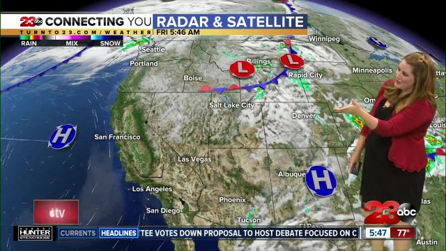Friday morning forecast 8/231/19