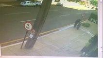 Câmera mostra furto de bicicleta de R$ 4 mil, no Centro