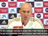 "Real Madrid - Zidane : ""Bale veut rester"""