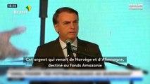 Incendies en Amazonie : Le président du Brésil accuse les ONG d'avoir provoqué les feux