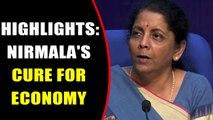Nirmala Sitharaman's roadmap to nurse ailing economy back to health