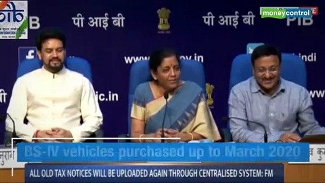 FM Nirmala Sitharaman addressed a press conference on August 23