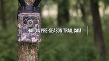 How to Hang a Pre-Season Trail Camera