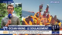 Ocean Viking: le soulagement