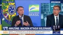 Incendies en Amazonie: Emmanuel Macron attaque Jair Bolsonaro