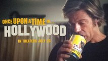 Once Upon A Time in Hollywood Cliff Booth trippin out. Brad Pitt acting like he is high on Acid