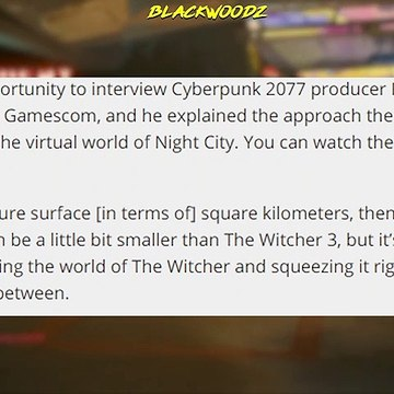 Cyberpunk 2077 News - MAP SIZE Revealed, Multiplayer Test & More!