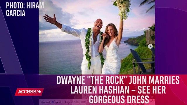 Dwayne 'The Rock' Johnson Marries Lauren Hashian In Secret Hawaiian Wedding!
