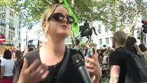"""""""Bolsonaro tiene que irse"""", gritan cientos de manifiestantes por la Amazonía en Londres"""