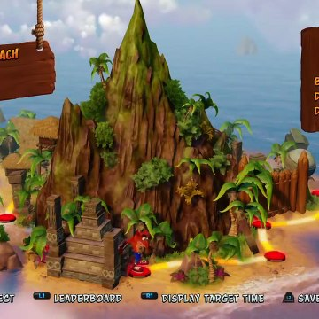 Who is the best at playing Crash Bandicoot in the desert