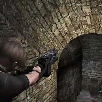 Resident Evil 4 - 3-2 Castle Sewer: Swinging Death Traps, Novistador Fight (Insect Creature) (2019)