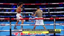 Blair Cobbs vs Steve Villalobos (22-08-2019) Full Fight