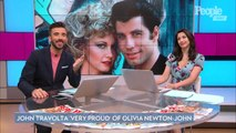 John Travolta Says He's 'Very Proud' of 'Grease' Costar Olivia Newton-John as She Faces Cancer