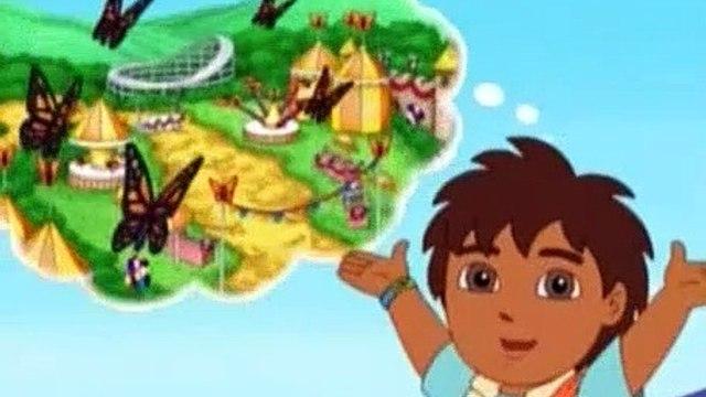Go Diego Go Season 3 Episode 9 Diego and Dora Help Baby Monarch Get to the Festival