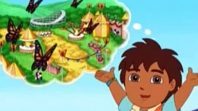 Go Diego Go S03E09 Diego and Dora Help Baby Monarch Get to the Festival