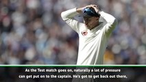 England follow him - Thorpe and Hazlewood on captain Root