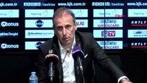 SPOR Beşiktaş Teknik Direktörü Abdullah Avcı maç sonu açıklamalarda bulundu
