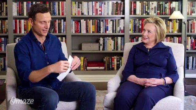 Hillary Clinton and Tony Goldwyn Play Broadway or Beltway - YouTube