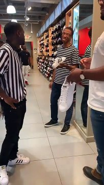 Funny Marco team up with FOOTLOCKER TO PRANK FAMOUS STAR OF POWER (ROTIMI)