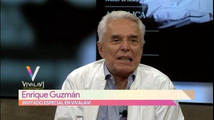 Enrique Guzmán habla de sus presentaciones