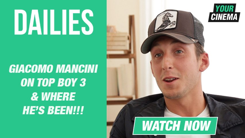 Gem's back! Giacomo Mancini on Top Boy 3, where he's been and much more!